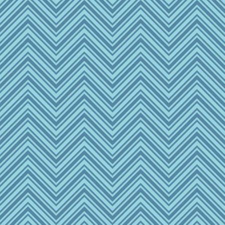 Blue Chevron Pattern. Seamless Herringbone Wallpaper Pattern. Tileable Geometric Technology Vector Background. Illustration