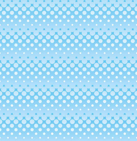 Ligh blue halftone seamless pattern for web design. Tileable stripped vector wallpaper background with halftone dots.