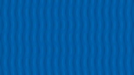 Abstract blue wavy background. Vector isometric pattern with copy space for business presentation or web design.