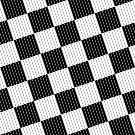 Seamless black and white abstract checkered vector pattern. Illusztráció
