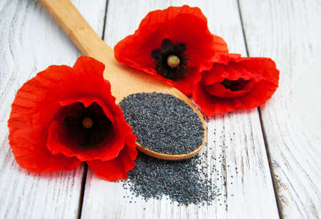 Poppy seeds and poppy flowers on a wooden background stock photo poppy seeds and poppy flowers on a wooden background stock photo 94675530 mightylinksfo