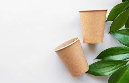 Zero waste, environmentally friendly, disposable, cardboard, paper tableware.