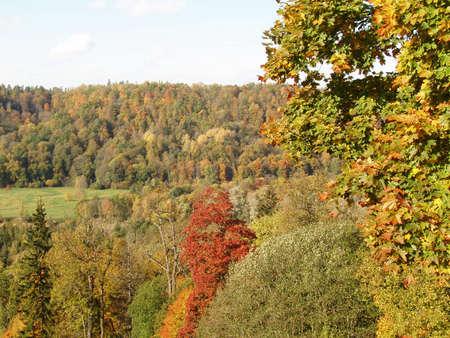 sigulda: Autumn in Sigulda, Latvia