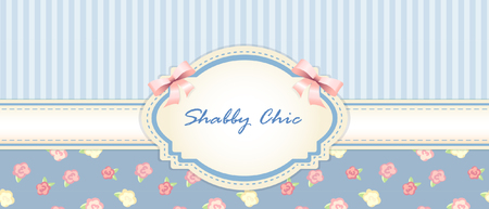 chic: shabby chic. congratulations card