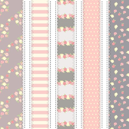 cellule: shabby chic. provence style. 5 backgrounds. beige and gray color