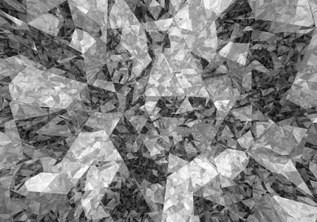 mirrored: Abstract colorless mirrored background. 3D rendering.