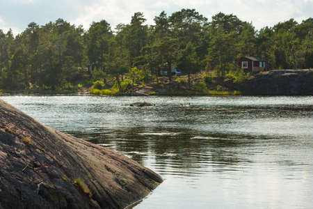 In the archipelago near Oskarshamn, Swedish east coast
