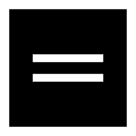 Equal sign in math