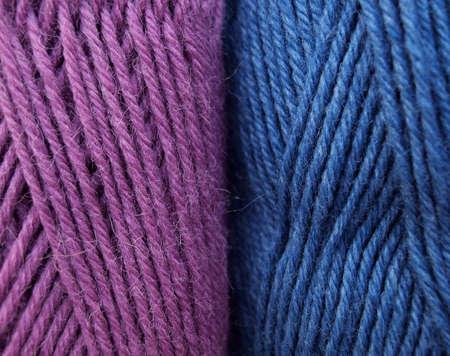 Knitting yarn ball background