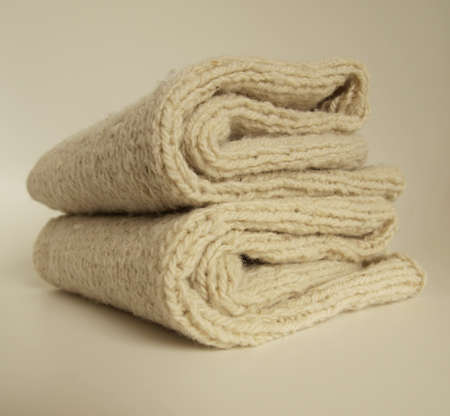 Knitted wool clothing socks photo
