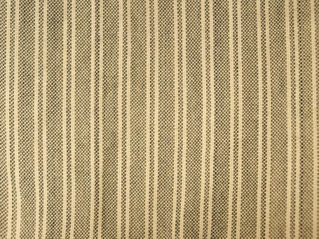 cotton fabric: Textured striped cotton fabric Stock Photo