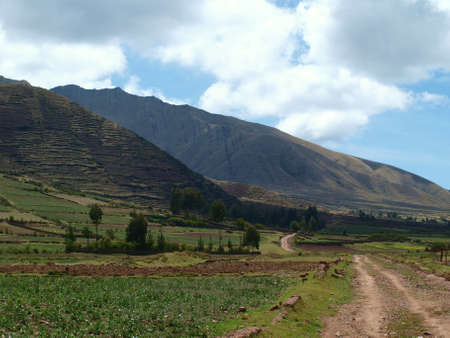 Sacred valley of Cuzco, Peru photo