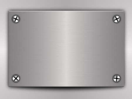 metal plate Stock Photo - 6390291