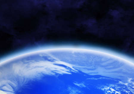 Earth as seen from space Stock Photo - 6408075