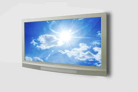 stock photo: tv