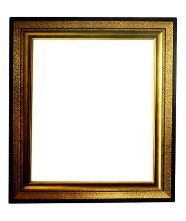 antique gold frame: frame