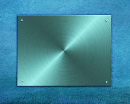 metal plate Stock Photo - 7527178