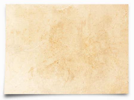 Antikes Pergament-Papier Textur Standard-Bild