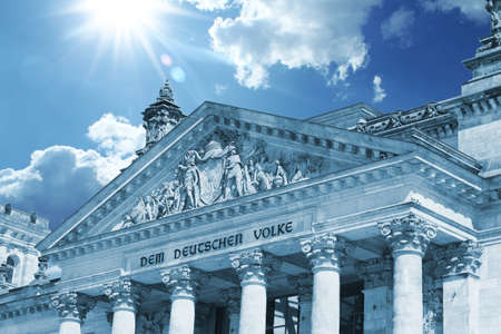 reichstag building, berlin, germany photo