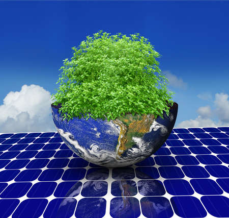 green earth Stock Photo - 8164258