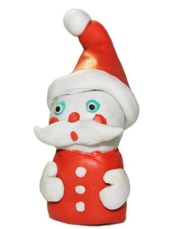 santa, on white background photo