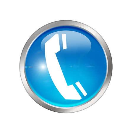 Phone icon Stock Photo - 8462011