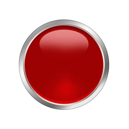 red button Stock Photo - 8462004