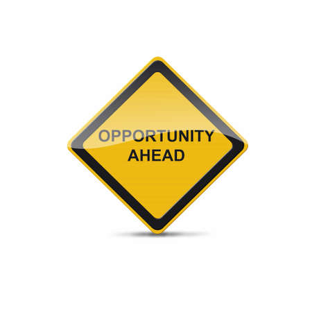 need direction: opportunity sign Stock Photo