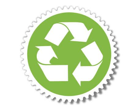 green energy button Stock Photo - 8462001