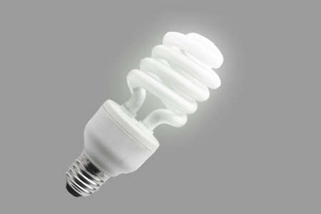 energy-saving light bulb photo