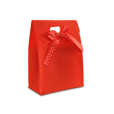 colourful images: red gift Stock Photo