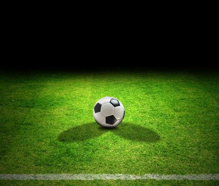 Fußball ball Standard-Bild - 9593415