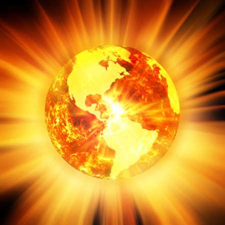 simulations: Global warming