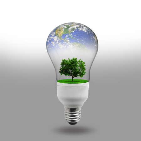 risparmio energetico: concetto di energia rinnovabile Archivio Fotografico