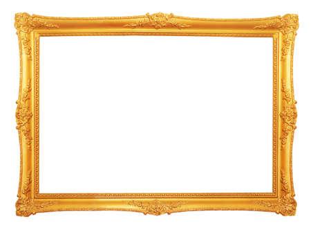 Antiguo marco de oro antiguo Foto de archivo - 10350497