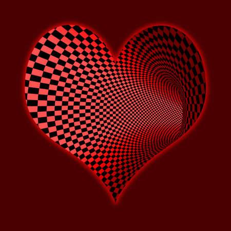 computergraphics: heart  background