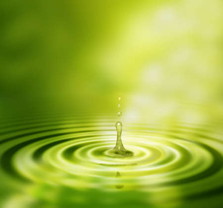 Splash van het water