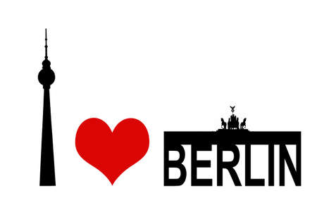 i love berlin Stock Photo - 11539036