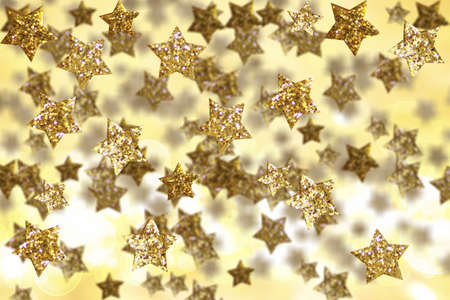 Christmas golden decoration  photo
