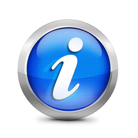 tourist information: blue icon symbol