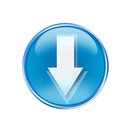light emitting diode: arrow icon
