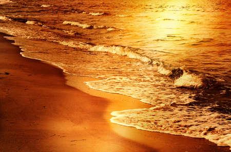 catchlight: Sea sunset Stock Photo