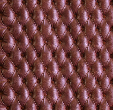 buttoned: Luxury buttoned leather textur Stock Photo