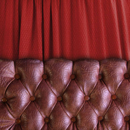 oxblood: chesterfield chair