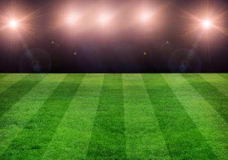 Fußballfeld Standard-Bild - 13598561
