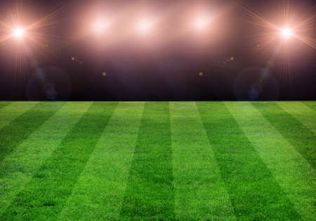 soccer field Stock Photo - 13598561
