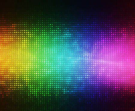 abstract lights disco background  Stock Photo - 13811146