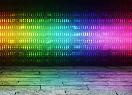 abstract lights disco background  photo