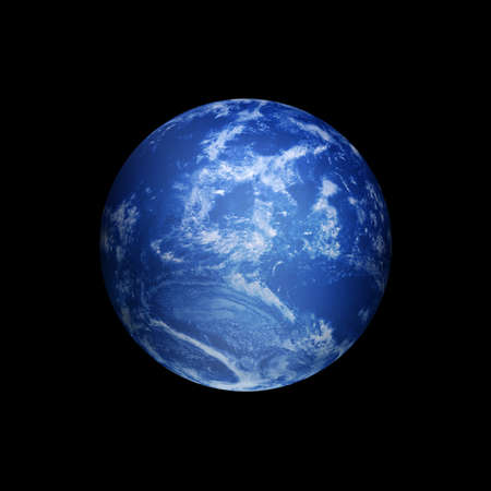 mother earth: blue earth
