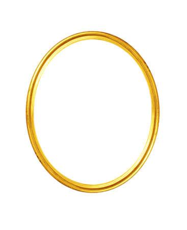 �valo: viejo marco de oro antiguo